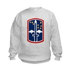 172nd Infantry Kids Sweatshirt