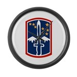172nd Infantry Large Wall Clock