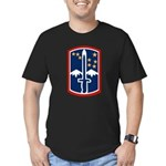 172nd Infantry Men's Fitted T-Shirt (dark)
