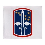 172nd Infantry Throw Blanket