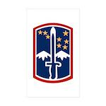 172nd Infantry Sticker (Rectangle 50 pk)