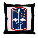 172nd Infantry Throw Pillow