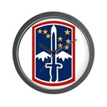 172nd Infantry Wall Clock