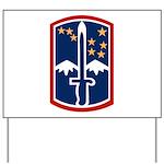 172nd Infantry Yard Sign