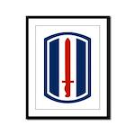 193rd Infantry Framed Panel Print