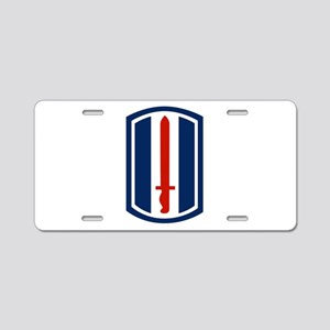 193rd Infantry Aluminum License Plate