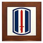 193rd Infantry Framed Tile