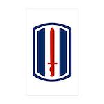 193rd Infantry Sticker (Rectangle 10 pk)