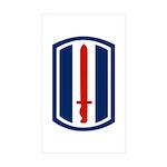 193rd Infantry Sticker (Rectangle 50 pk)