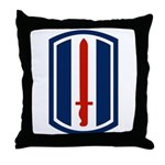 193rd Infantry Throw Pillow