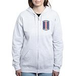 193rd Infantry Women's Zip Hoodie