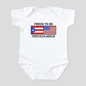 Puerto Rican American Infant Bodysuit