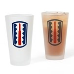 197th Infantry Pint Glass