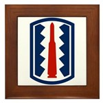 197th Infantry Framed Tile