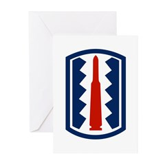 197th Infantry Greeting Cards (Pk of 20)
