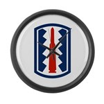 197th Infantry Large Wall Clock