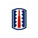 197th Infantry Sticker (Rectangle 10 pk)
