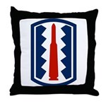 197th Infantry Throw Pillow