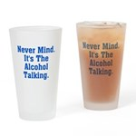 Never Mind. It's The Alcohol Pint Glass