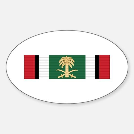 Kuwait Liberation (Saudi Arabia) Sticker (Oval)