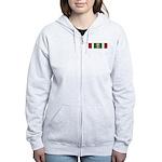 Kuwait Liberation (Saudi Arabia) Women's Zip Hoodi