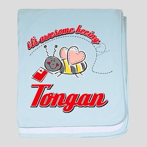 Awesome Being Tongan baby blanket