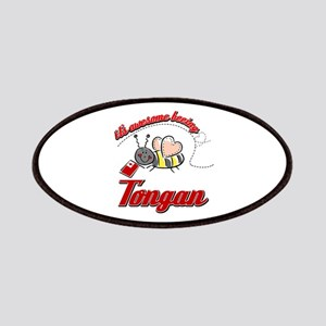 Awesome Being Tongan Patches
