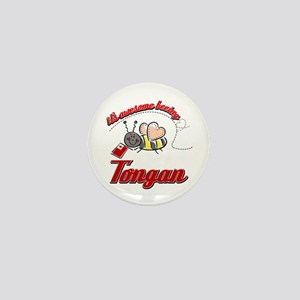 Awesome Being Tongan Mini Button