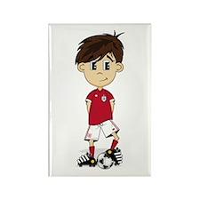 England Soccer Boy Magnet