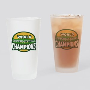 Rugby Champions south africa Pint Glass