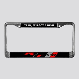 HEMI RT V8 License Plate Frame