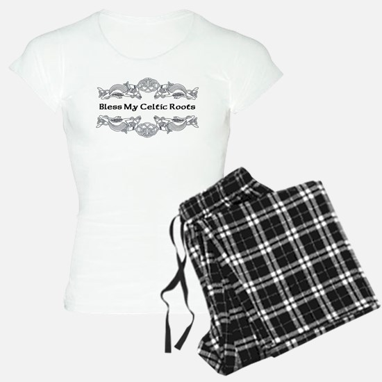 """Bless My Celtic Roots"" Pajamas"