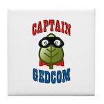 Captain GEDCOM Tile Coaster