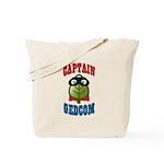 Captain GEDCOM Tote Bag