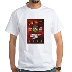 Raiders Of The Lost Archive. White T-Shirt