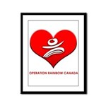 Operation Rainbow Canada Framed Panel Print