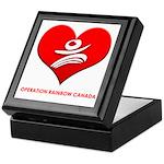 Operation Rainbow Canada Keepsake Box