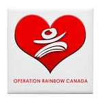 Operation Rainbow Canada Tile Coaster
