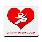 Operation Rainbow Canada Mousepad