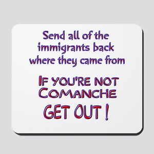 Not Comanche ? Mousepad