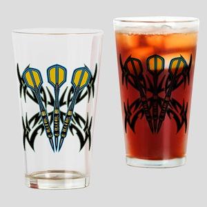 Tribal Darts Pint Glass