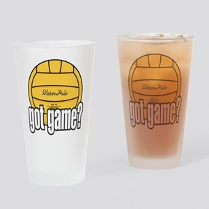 Water Polo Got Game? Drinking Glass