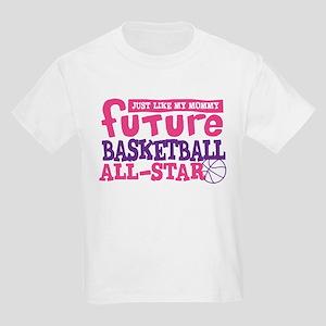Future Basketball All Star Girl Kids Light T-Shirt