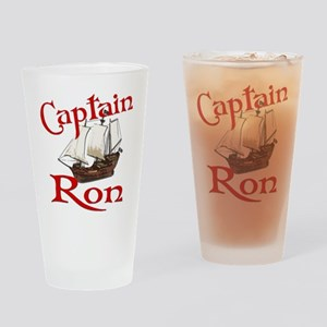 Captain Ron Drinking Glass