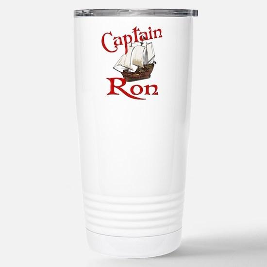Captain Ron Stainless Steel Travel Mug