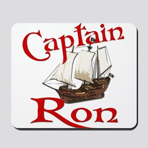 Captain Ron Mousepad