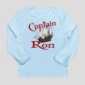 Captain Ron Long Sleeve Infant T-Shirt