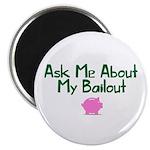 Bailout Jokes 1 Magnet
