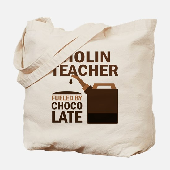 Violin Teacher Gift Tote Bag