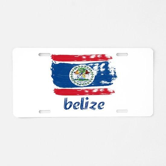 Belize Aluminum License Plate